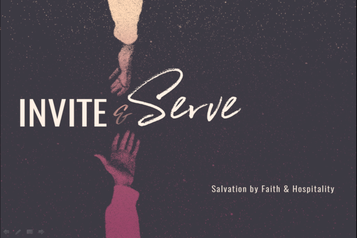 Invite and Serve (Week 2): The God of the Banquet